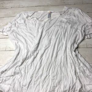 3x solid white LuLaRoe Perfect T